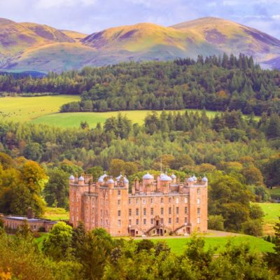 Drumlanrig Castle is situated on the Queensberry Estate in Dumfries and Galloway. Part of the South West Coastal 300 route.